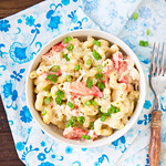 Stovetop Crab Macaroni & Cheese