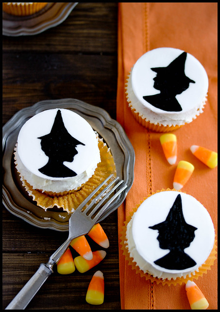 Witch Cupcakes (inspiriert von Country Living)