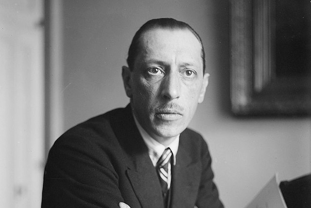 Igor Stravinsky, circa 1927 © George Grantham Bain Collection