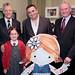 Launch of children's animation show in Belfast, 05 November 2013