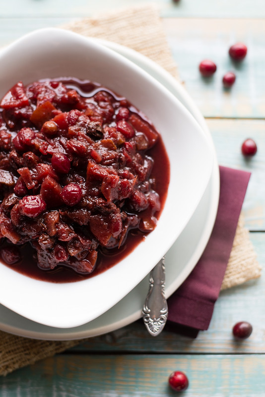 Best Ever Slow Cooker Cranberry Chutney www.pineappleandcoconut.com
