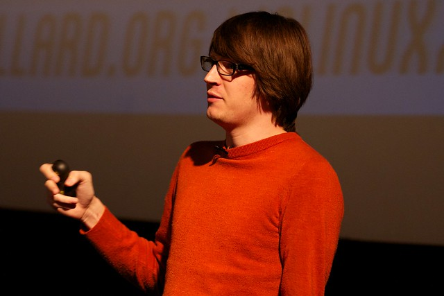 Andrew Nesbitt, speaking at Full Frontal 2013