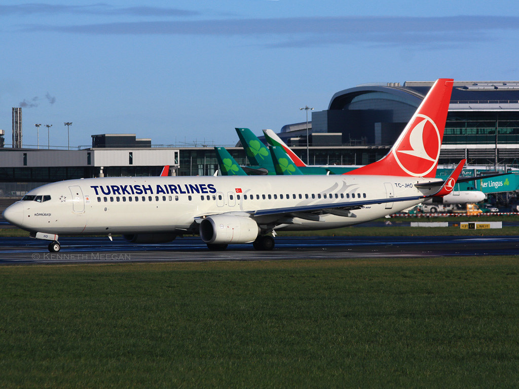 TC-JHO - B738 - Turkish Airlines