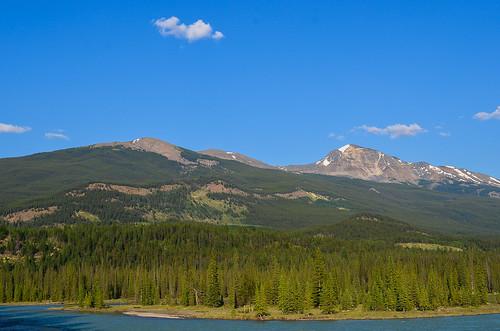 <p>Jasper Townsite, Jasper National Park, Alberta, Canada<br /> Nikon D5100, 18-55 mm f/3.5-5.6<br /> July 7, 2012</p>