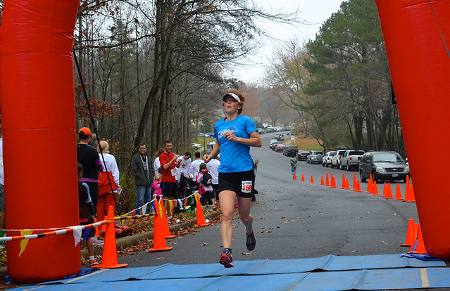 11-17-2013 Ridge Runners Turkey Trot Finish Photo K