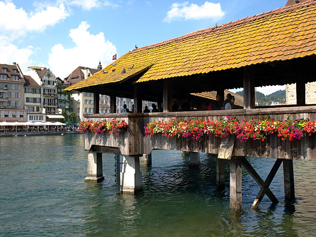 Chapel Bridge, Lucern, Switzerland