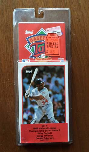 1989 Topps Talking Baseball Pack 1
