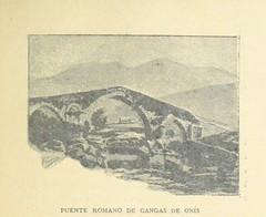 """British Library digitised image from page 185 of """"De Llanes á Covadonga. Excursión geográfico-pintoresca ... Con un prologo del Excmo. Señor D. J. Gómez de Arteche ... y dos mapas, etc"""""""