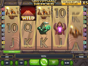 Egyptian Heroes slot game online review