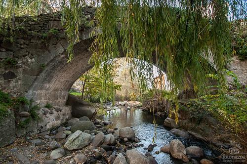 Puente de la Fuente Chiquita de Hervás, resquicios de la Vía de la Plata
