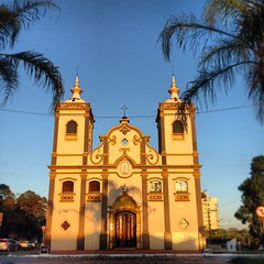 Rosario #church #sunset #shadow