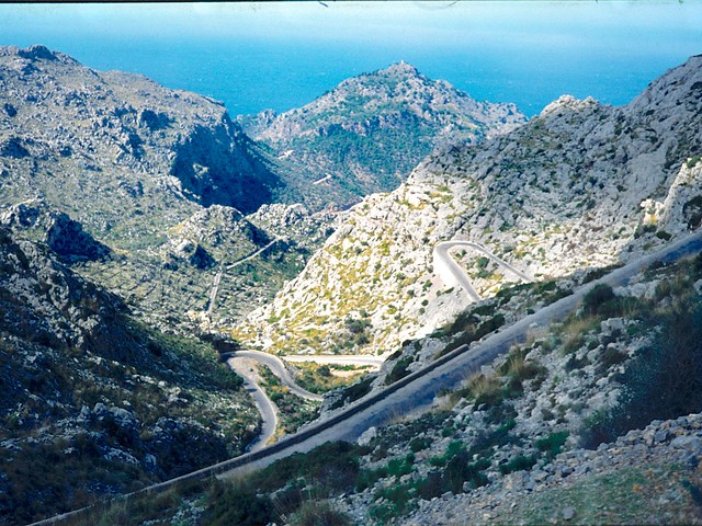 A nice race course...  Mallorca North Shore, Spanish Balearic Islands, 1976