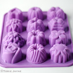 Decorative silicone mould