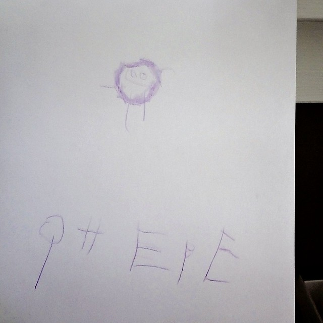 Phebe's drawing and writing