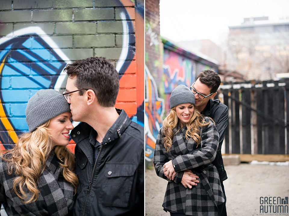 Kensington Market Cafe Toronto Engagement Session 0012