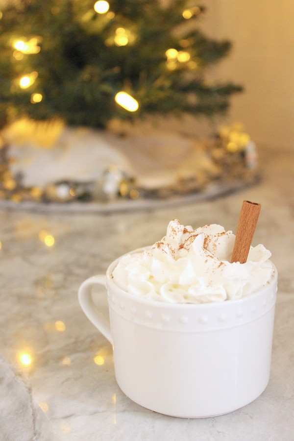 Fabric Paper Glue | Spiked Cinnamon Hot Chocolate Recipe