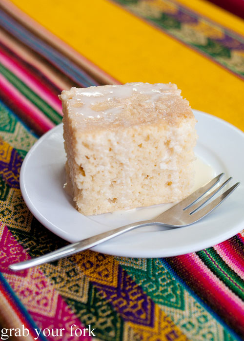 Tres leches three milk cake