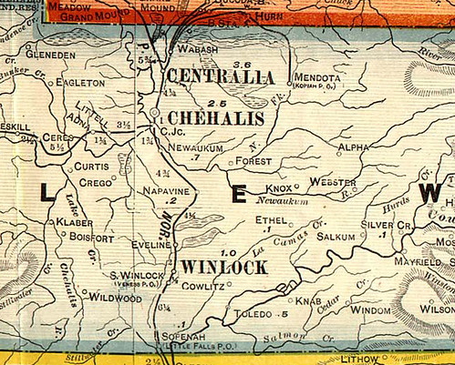 Lewis County Washington Map.The Broersma S Ancestry Where Is Forest Washington