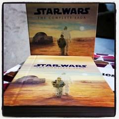 Otro bonito regalo de cumpleaños: la saga de Star Wars en Blu-Ray.