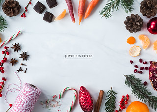 Holidays greeting card + free wallpaper