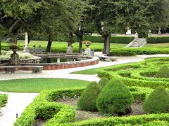 botanical garden, shrub, garden, yard, reflecting pool, landscaping, lawn, park,