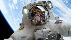 ISS Space Walk to restore the Cool