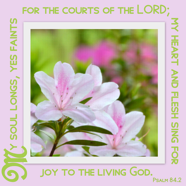 Psalm 84.2