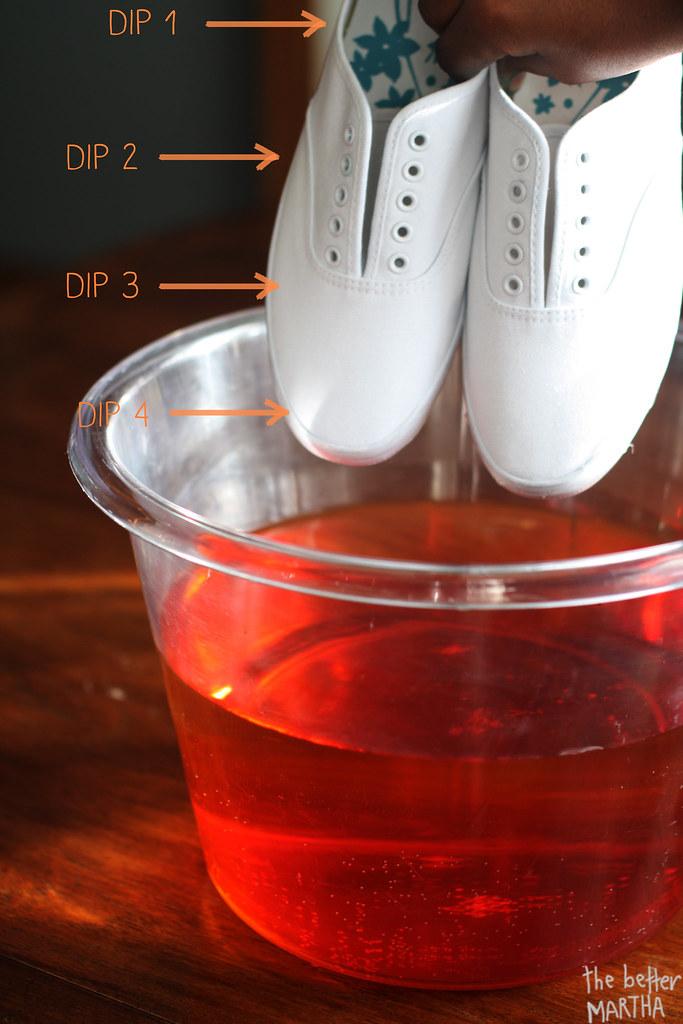 Step 3 Dip Shoes