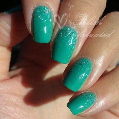 Jan nail art challenge: sparkles