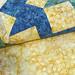 238_Navy Landscape Batik Gold Table Topper_k