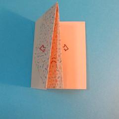 วิธีพับกระดาษเป็นผีเสื้อหางแฉก 018