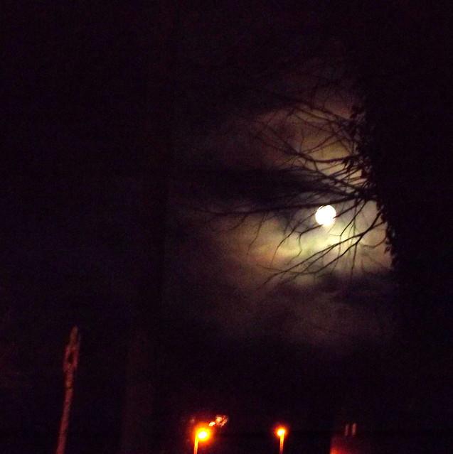 Moonset 7 10 AM, Fujifilm FinePix S3380