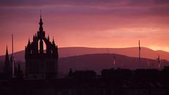 winter sunset, Edinburgh 02