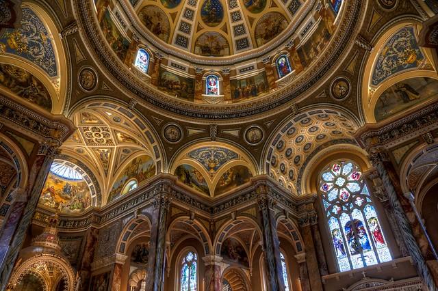 Saint Josaphat Basilica Ceiling