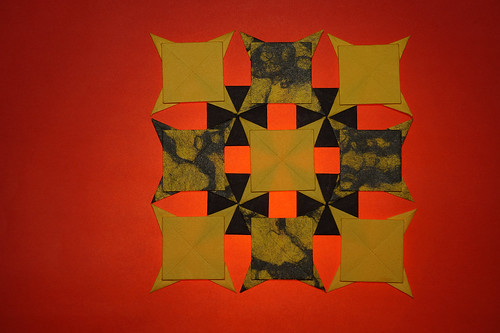 Origami Quilt pattern (Tomoko Fuse)