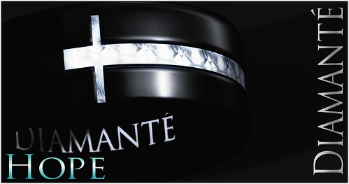 :Diamante: Hope - Mens Ring by Alliana Petunia