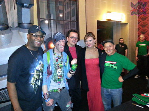 JARED'S EPIC PARTY! :: TMNT2 Movie Experience; Alamo DraftHouse Cinema // EASTMANS, Richard Usher of Partners in Kryme, Ernie Reyes Jr. & Tokka  (( February 21, 2014 ))