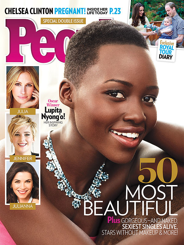 Lupita Nyong'o People's Most Beautiful Person Beautiful