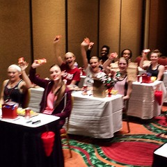 HTEDance Staff Retreat 2014 We Are Red Hot!!!