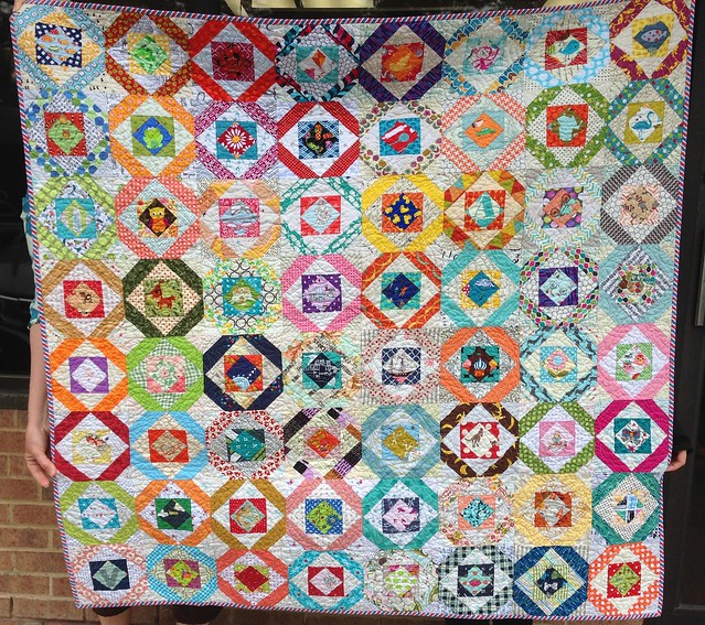 do. Good Stitches Nurture Circle  March quilt