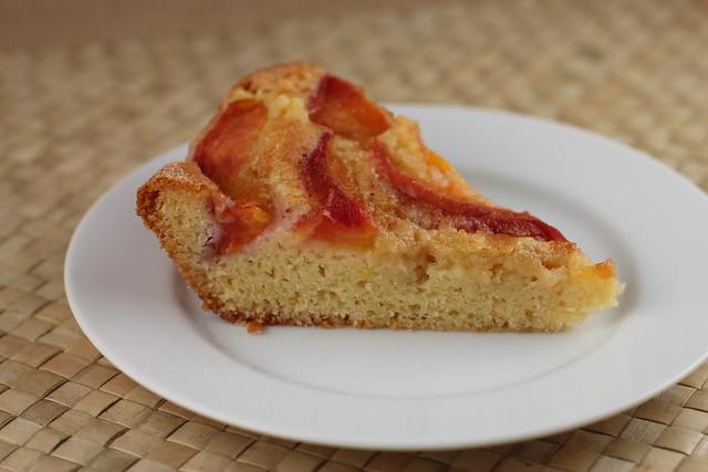 Spiced Nectarine Cake