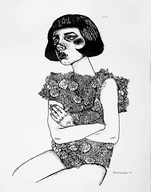 Marcelina amelia - screen print