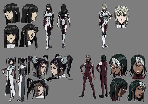 140523(2) -「水樹奈奈、高垣彩陽、川澄綾子」演出受難美女、全2卷OVA《火星任務》人物造型公開!