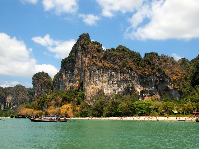 Limestone Cliffs at Railay