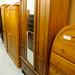 Edwardian wardrobe with base