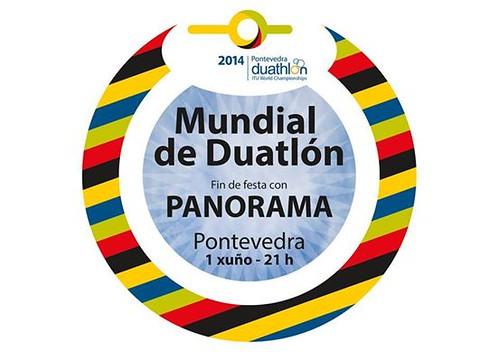 Pontevedra 2014 - Final Mundial Duatlón - cartel