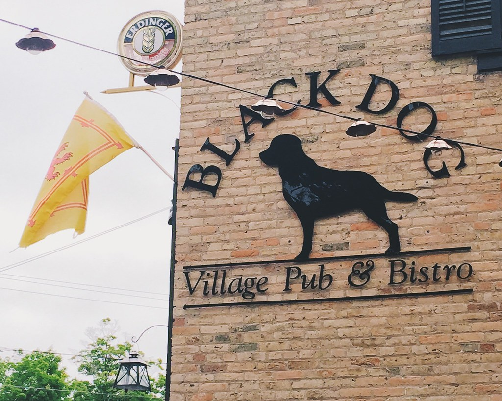 Black Dog Village Pub in Bayfield