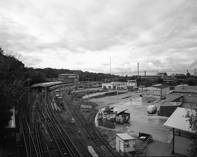 Berlin U-Bahnhof Olympiastadion 8x10 inch