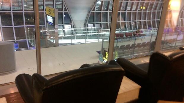 161030 スワンナプーム空港CIPラウンジG5