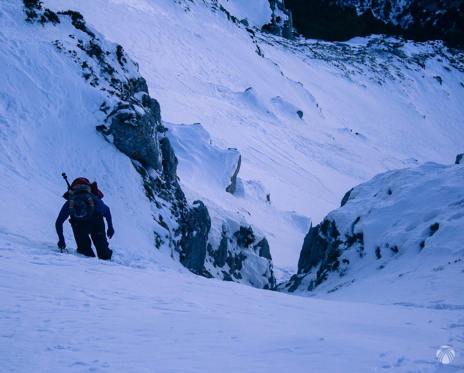 Un ambiente de alta montaña